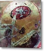 49ers Art Metal Print