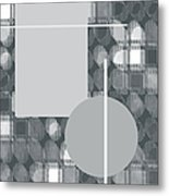49th Shade Of Gray Metal Print