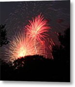4th Of July Fireworks - 01131 Metal Print by DC Photographer