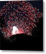 4th Of July Fireworks - 011312 Metal Print by DC Photographer