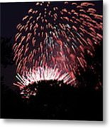 4th Of July Fireworks - 011313 Metal Print