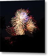 4th Of July Fireworks - 011320 Metal Print