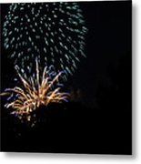 4th Of July Fireworks - 011330 Metal Print by DC Photographer
