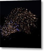 4th Of July Fireworks - 011332 Metal Print by DC Photographer
