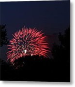 4th Of July Fireworks - 01136 Metal Print by DC Photographer