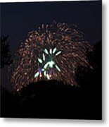4th Of July Fireworks - 01138 Metal Print by DC Photographer
