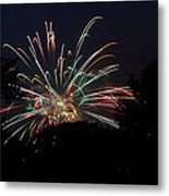 4th Of July Fireworks - 01139 Metal Print by DC Photographer