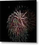 4th Of July Fireworks Metal Print