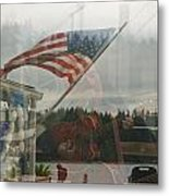 4th Of July In Seabeck Metal Print