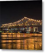 4th Of July Over The Big Easy Part Deaux Metal Print