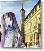 Bull Terrier Art Canvas Print Metal Print
