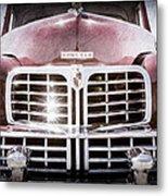 1948 Lincoln Continental Grille Emblem Metal Print