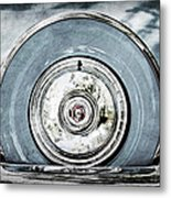 1956 Ford Thunderbird Spare Tire Metal Print
