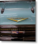 1957 Chevy Bel Air Metal Print by David Patterson