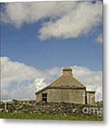 Abandoned Farm In Ireland Metal Print