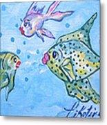 Art Fish Metal Print