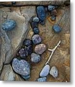 Art Rock Metal Print