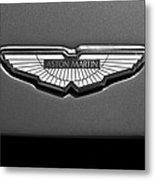 Aston Martin Emblem Metal Print