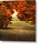 Autumn Ablaze Metal Print