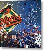 Baltimore Orioles Metal Print by Joe Hamilton