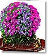 Beautiful Arrangement Of Flowers Metal Print