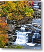 Berea Falls Metal Print by Frozen in Time Fine Art Photography