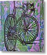 Bike 4  Metal Print by William Cauthern