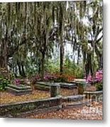 Bonaventure Cemetery Savannah Georgia Metal Print