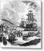 Boston: Evacuation, 1776 Metal Print