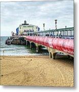 Bournemouth Pier Metal Print