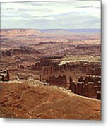 Canyonlands National Park In Utah Metal Print