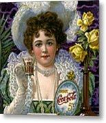 5 Cent Coca Cola - 1890 Metal Print