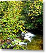 Cherry Falls Elk River Metal Print