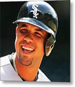 Chicago White Sox V Houston Astros Metal Print