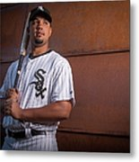 Chicago Whte Sox Photo Day Metal Print