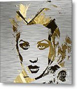 Christina Aguilera Collection Metal Print