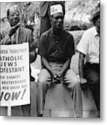 Civil Rights March, 1965 Metal Print