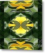 Color Fashion Abstract Metal Print
