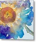 Dahlias Collection Metal Print