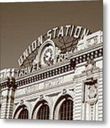 Denver - Union Station Metal Print