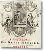 Desiderius Erasmus  Dutch Humanist Metal Print