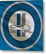 Detroit Lions Uniform Metal Print