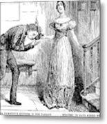 Dickens Martin Chuzzlewit Metal Print