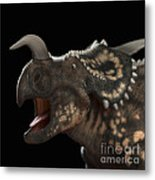 Dinosaur Einiosaurus Metal Print