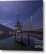 Diving Board Metal Print