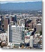 Downtown San Jose California Metal Print