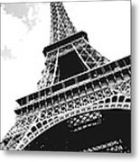 Eiffel Tower Metal Print by Elena Elisseeva