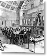 Electoral Commission, 1877 Metal Print