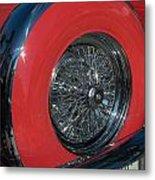 Ford Thunderbird Metal Print