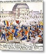 France Revolution, 1848 Metal Print